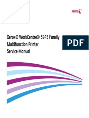 Wc5945f Service Manual Xerox | Electrostatic Discharge | Engineering