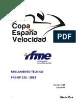 2013 Tecnico PRE GP-125