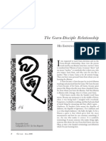 Guru-Disciple Relationship