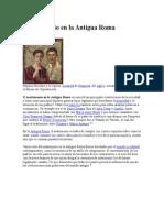 Mvggatrimonio en La Antigua Roma