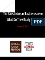 Pechter - Middle East Polls Summary
