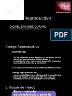 3. Riesgo Reproductivo