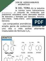 Obtencion de Hidrocarburos Aromaticos