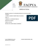 Derecho Fiscal Cap 9