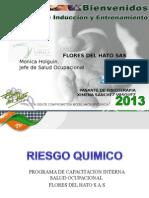 Riesgo Quimico Asperjadores 2013