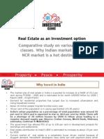 Investment in Delhi Ncr