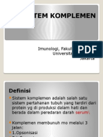Sistem Komplemen 2013