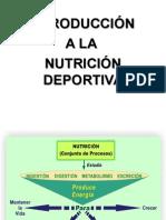 Clase 1 Nutrición Deportiva