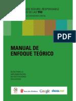 Manual Enfoque Teorico para el Uso Responsable de las Nuevas Tecnologías