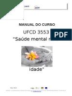 Manual Curso Saúde Mental 3ª idade