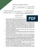 Esposto Procura Roma - Ombrina Mare Del 08-10-2015