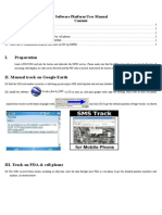 Software Platform Manual Tracker GPS