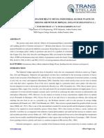 1. IndustrialEngg - Ijiet-effects of Contaminated-j. Srinivas