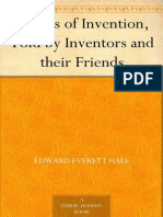 Stories of Invention, Told by Inventors and Their Friends - Everett