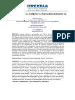 Artigo - A Importânica Da Comunicação Em Projetos de TI