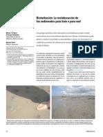 26 -4 Bioturbación- La Reelaboración de Los Sedimentos Para Bien o Para Mal