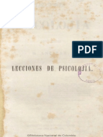 1851 Manuel Ancízar - Lecciones de Psicología