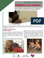 Los Indígenas Nos Cuentan - Boletín Informativo 2