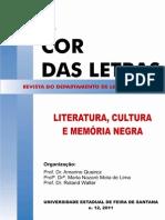 Revista - A Cor Das Letras, n. 12, 2011 v. Site End