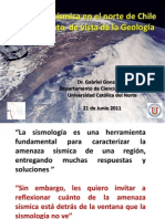 Amenaza Sismica Norte Chile Gonzalez UCN
