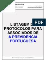 Listagem de Protocolos Para Associados 2015-10-16
