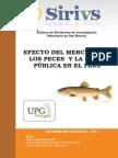 Mercurio en Pescado y Salud Publica