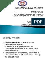 A Smart Card Based Prepaid
