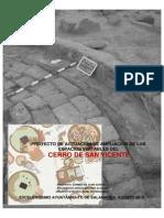 Proyecto Ayuntamiento Cerro San Vicente 2015