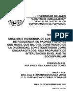 Tesis Doctoral Resiliencia (Estado Arte Resiliencia)