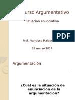 04 Discurso Argumentativo - Situacion Enunciativa (1)