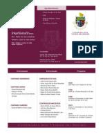 Programa Entronização Novembro 2015
