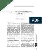 Dialnet-UnModeloDeEvaluacionDelSistemaEducativo-718490