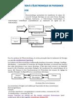 Ch Introduction Électronique de Puissance
