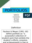 PORTFOLIO Alternative Assessment