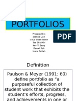 PORTFOLIO Alternative Assessment