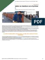La Tasa de Desempleo Se Mantuvo en El Primer Trimestre en 7,1% _ Chaco, Formosa, Mar Del Plata - Infobae
