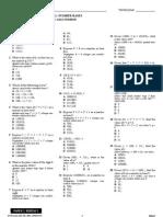 Maths F5 Topical Test 1 (B)
