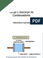 Carga y Descarga de Condensadores