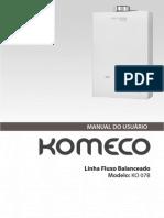 Manual Uso KO 07B