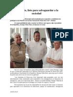 18.05.2014 Municipio, Listo Para Salvaguardar a La Sociedad
