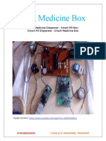 Smart Medicine Box and Pill Box