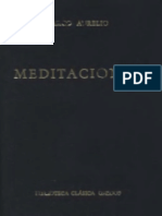 Marco Aurelio - Meditaciones (Gredos)