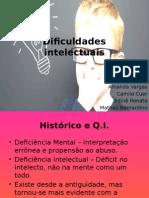 1. Apresentação - Dificuldades Intelectuais