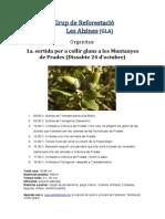 Grup reforestació Alzines