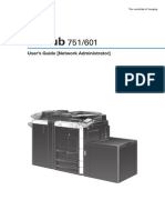 Bizhub 601 User Manual
