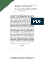 rejuvenasi, karakterisasi morfologi, dan mutu gizi plasma nutfah tanaman pangan