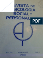 Psicologia Social y Personalidad No.1-2009