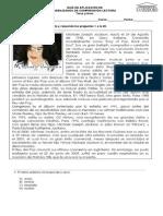 Guía n° 6 de aplicación de habilidades de comprensión lectora