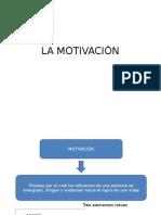 El Proceso de La Motivación