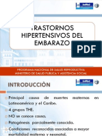 TRANSTORNOS HIPERTENSIVOS 2014